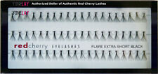NIB RED CHERRY Flare Extra Short Individual Lash False Eyelashes Fake Eye Lashes