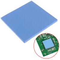 100*100*5mm Blue Thick CPU Heatsink Thermal Conductive Silicone Pad