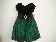 Iz Amy Byer Velvet Mock -Bolero Dress Girl's Size:6