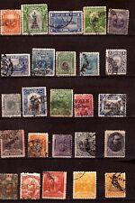ZY197/85  CHILI  1873/1924 : Embleme, dieu soleil,lamas, personages