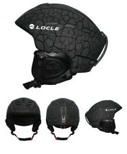 LOCLE Outdoor Sports Men Women Skiing Helmet Ski Snowboard Skateboard Helmet