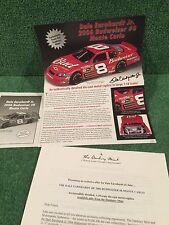 """Danbury Mint """"Dale Earnhardt Jr. 2006 Monte Carlo.""""  Brochure!"""