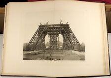 1900   Eiffel Tower   Tour Trois Cents Metres   PARIS   LARGE photogravures