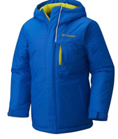 Columbia Free Fall Alpine Ski Jacket Junior Boys Blue Size UK 10-12 Years*REF139