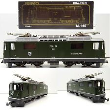 BEMO H0m Schmalspur  1258 E-Lok Ge 4/4 II Rh B 611 Landquart TOP/OVP C3438