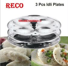 RECO 100% STAINLESS STEEL,IDLI MAKER ,KITCHEN APPLIANCES,3 PIECE STAND