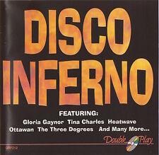 TRAMMPS / TINA CHARLES / DISCO TEX / GEORGE McCRAE / TYMES / BIDDU ETC.- CD