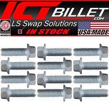 Usa Bolt Kit Only Ls Lt Exhaust Manifold / Header Flange Bolts Ls1 Lt1 Ls3 Lq4