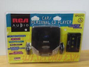 RCA Cd Player RP2215 New Car Kit Headphones