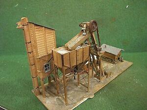 HO Scale Vtg Industrial build (Weathered & Detailed) built up wood kit~ custom?