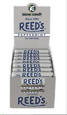 Reed's PEPPERMINT Candy Rolls are back! Box of 24