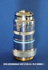 Microscope Objective APO 40x/1.0 Ph-3 OIL From Carl Zeiss