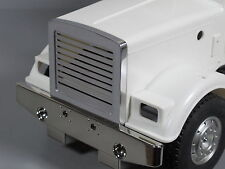 New Aluminum Front Grill Billet Guard Mesh Tamiya 1/14 Semi King Grand Hauler
