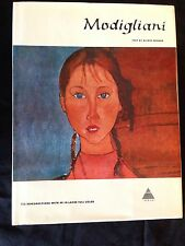 MODIGLIANI-TEXT BY ALFRED WERNER-HC-1ST EDITION-ABRAMS PUBLISHER-VG++