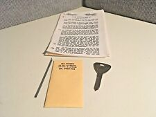 New listing Eez Reader Key - Works On Ford Escort 91+ And Mercury Tracer - 10-Cut