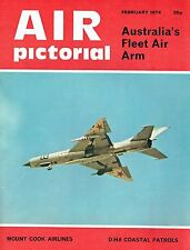 AIR PICTORIAL FEB 74: AUSSIE FAA/ NZ MT COOK AIRLINES/ 607 SQN OPS/ VANCE VIKING