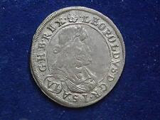 VI ( 6 ) Kreuzer 1673 Graz Leopold I RDR  W/17/349