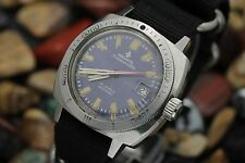 Vintage PRONTO SUBMERSIBLE Automatic Stainless Steel 300M Diver's Watch