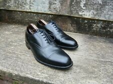 Cheaney Oxford Hombre Zapatos – Negro – UK 9.5 – Isis – Excelentes Condiciones