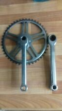 Steel Chainset single vintage cottered Pashley Picador tricycle bike 46T 170
