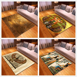 Egyptian Style Small Large Long Floor Carpet Area Rugs Various Size Soft Rug