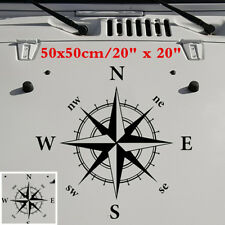 1Pcs Compass Sticker Decal Vinyl for Off Road 4x4 Chevy Toyota Jeep Adventure