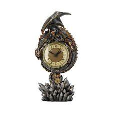 Nemesis Now - GOTHIC DRAGON STEAMPUNK CLOCK - Clockwork Reign