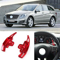 Alloy Steering Wheel DSG Paddle Shifters Extension For Mercedes R Class 09-15