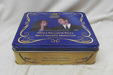 LOVELY Collectable Vintage MCVITIES COMMEMORATIVE TIN PRINCE WILLIAM