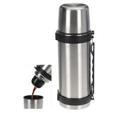 Isolierflasche Edelstahl  1 Liter Klickverschluss Thermosflasche Thermoskanne