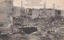 -Carte Postale ancienne Sommeilles ( Meuse ) Militaire Grande Guerre 14-18