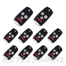 Lot 10P New Replacement Remote Keyless Entry Car Flip Key Fob For OUCG8D-439H-A