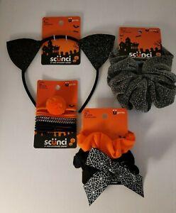 Lot of Scunci Headband Bat Halloween, Bling , Scrunchies and more!!