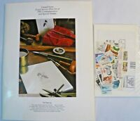 Sealed 1980 Mint Set Commemorative USPS Souvenir Album with Stamps Free Shipping