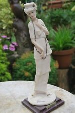 GIUSEPPE ARMANI 1920s Lady with Long Necklace Figurine