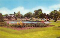 Vintage Staffordshire Postcard, Trentham Gardens HN8