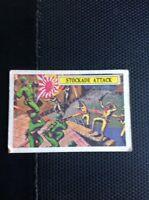 T2-1 Trade Card A&bc Abc Battle Stockade Attack Ww2