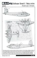 Aviaeology Decals 1/72 DE HAVILLAND MOSQUITO AIRFRAME STENCIL & DATA MARKINGS