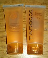 2 Tarocco Cleansing Body Wash Sicilian Blood Oranges Travel Size 45ml