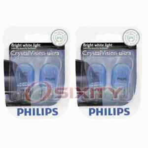 2 pc Philips Rear Side Marker Light Bulbs for Subaru B9 Tribeca Forester pa