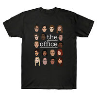 The Office TV Show US Cartoon Character Cast Gifts for Fans Men's T-shirt Tee