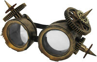 Vintage Spiked Victorian Steampunk Goggles Glasses Cyber Punk Gothic Cosplay