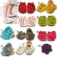 Girls Slip - on Wide Baby Shoes