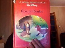 Le monde merveilleux de Walt Disney Rox et Rouky