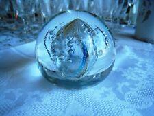 LEON APPLEBAUM.. STUDIO ART GLASS. CONTROLLED BUBBLE PAPERWEIGHT..VERY NICE GIFT