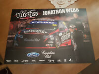 Jonathon Webb Mother Energy Tekno Dick Johnson Racing 2010 V8 Supercar Poster