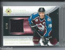 2005/06 Ultimate Collection - Ultimate Patches - Joe Sakic  #35/75