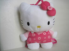 "15"" Sanrio HELLO KITTY BACKPACK Cat Plush Stuffed Animal"