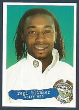 PANINI PFA FOOTBALL 97 #030-SHEFFIELD WEDNESDAY-FEYENOORD & HOLLAND-REGI BLINKER