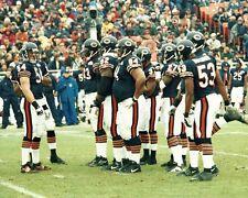 CHICAGO BEARS 8x10 Stadium Photo SOLDIER FIELD Brian Urlacher (Team Picture) NFL